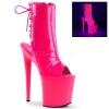 FLAMINGO-1018UV Neon Hot Pink Patent